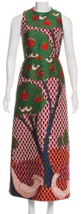 RED Valentino Embroidered Gucci Brocade Embellished Marni Dress