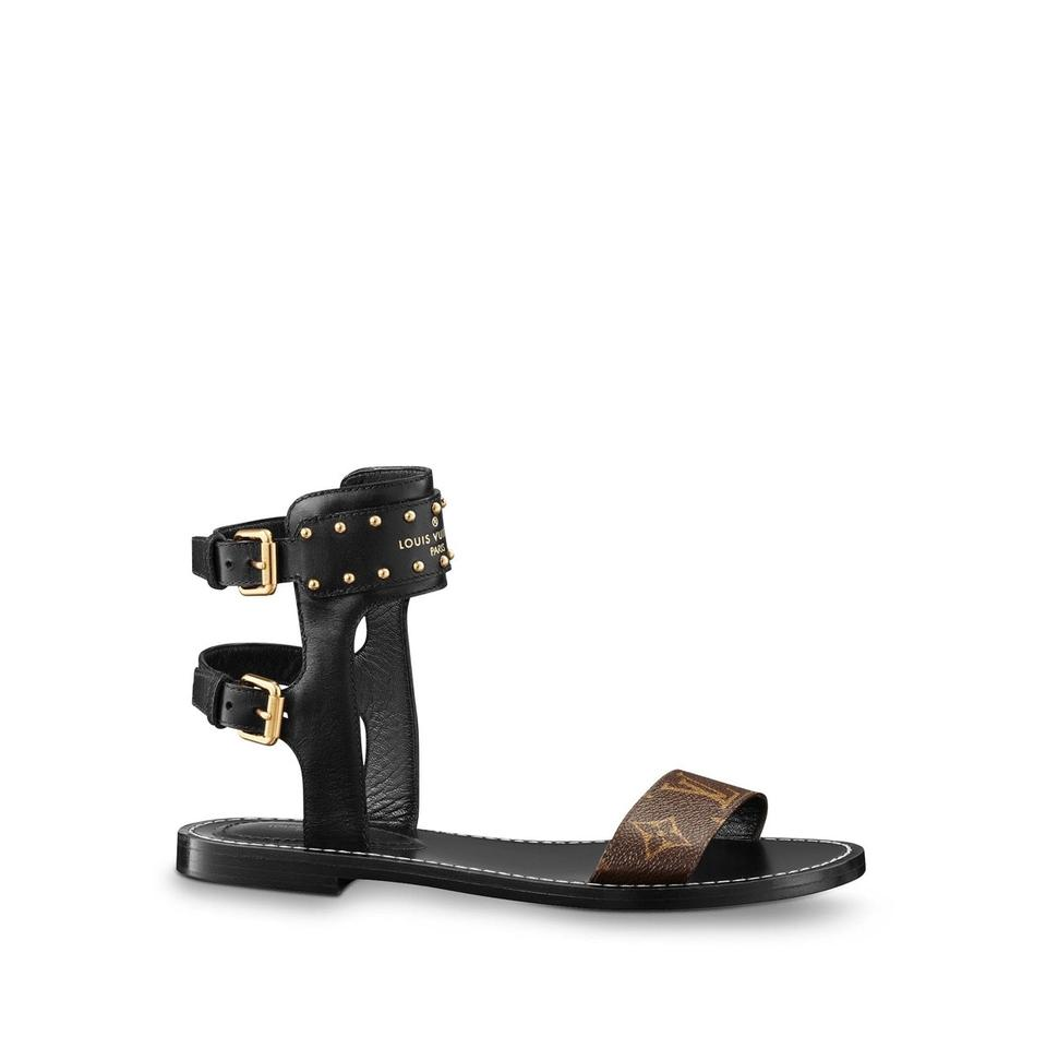 204bc28e535 Louis Vuitton Nomad 1a3mlk Sandals Size EU 39 (Approx. US 9) Regular ...