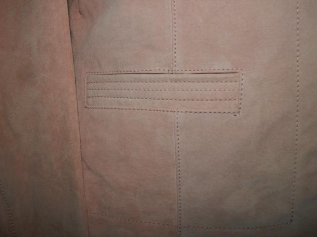 Coldwater Creek Dryclean Only Pink Leather Jacket Image 2