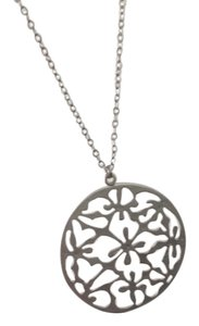 Nordstrom Silver Circle Pendant