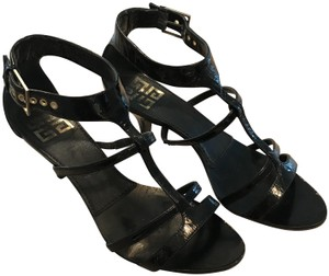 Givenchy Gladiator Black patent leather Sandals