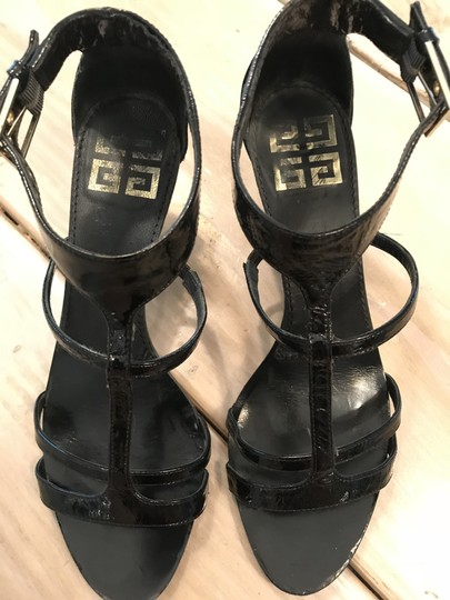Givenchy Gladiator Black patent leather Sandals Image 3