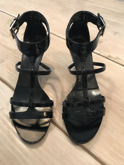 Givenchy Gladiator Black patent leather Sandals Image 4