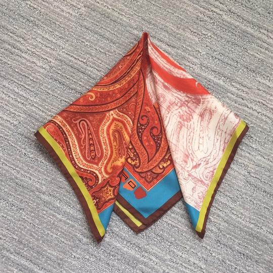 Etro Etro silk large pocket square Image 2