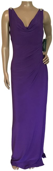 Preload https://img-static.tradesy.com/item/24145961/lauren-ralph-lauren-purple-long-formal-dress-size-8-m-0-1-650-650.jpg