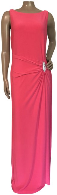 Preload https://img-static.tradesy.com/item/24145982/lauren-ralph-lauren-hot-pink-occasionsreduced-long-formal-dress-size-10-m-0-1-650-650.jpg