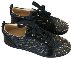 57d9c18bfb8 Black Christian Louboutin Sneakers Up to 90% off at Tradesy (Page 2)