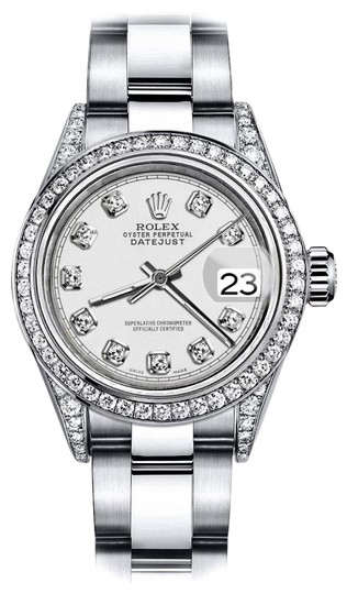 Preload https://img-static.tradesy.com/item/24146017/rolex-stainless-steel-ivory-track-26mm-datejust-diamonds-bezel-and-shoulders-oyster-watch-0-1-540-540.jpg