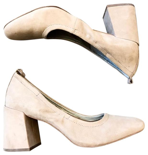 Item - Tan Nude Suede Madene Heels Pumps Size US 8 Regular (M, B)