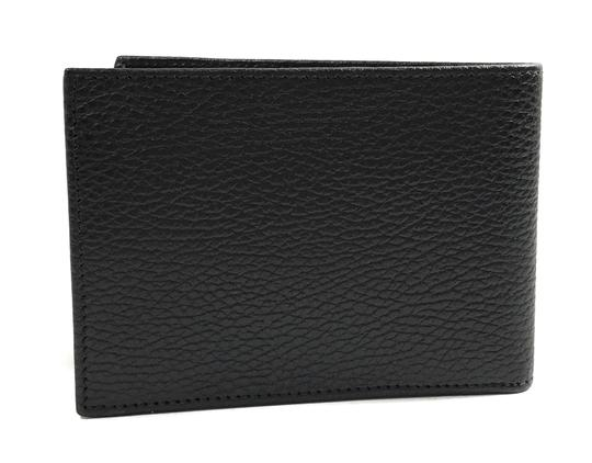 Gucci NEW GUCCI 292534 Men's Leather Bifold Wallet, Black Image 1