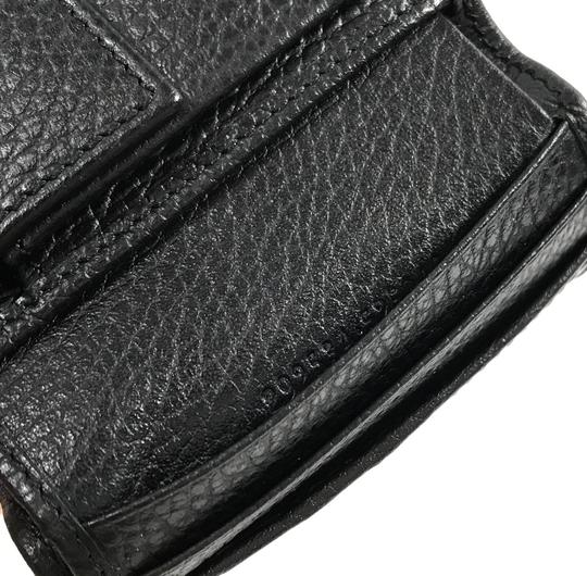 Gucci NEW GUCCI 292534 Men's Leather Bifold Wallet, Black Image 7