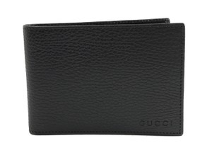 Gucci NEW GUCCI 292534 Men's Leather Bifold Wallet, Black