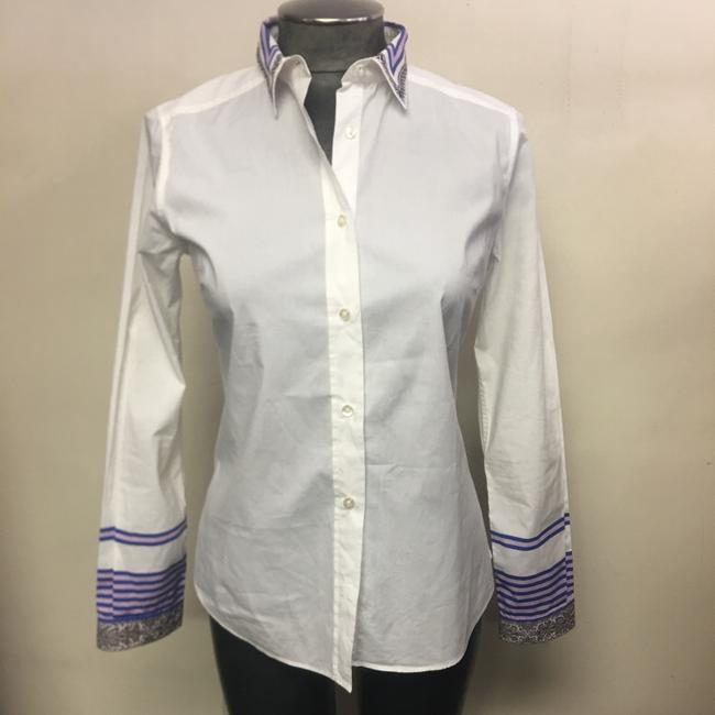 Etro Button Down Shirt White Image 1