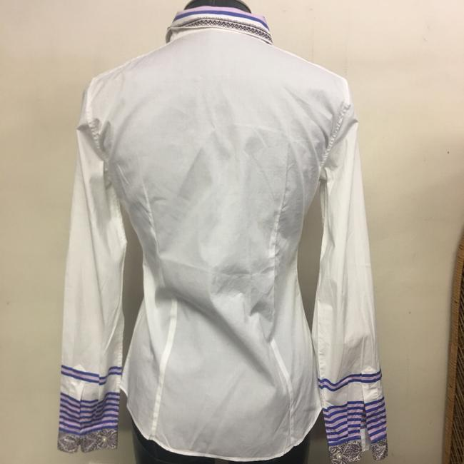 Etro Button Down Shirt White Image 3