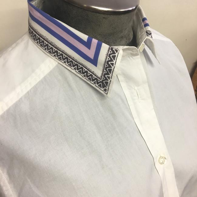 Etro Button Down Shirt White Image 4