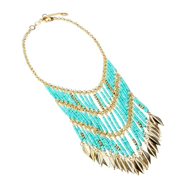 Item - Turquoise Gold Eastern Vibe New Necklace