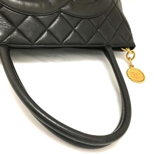 Chanel Flap Backpack Double Boy Supermodel Tote in Black Image 5