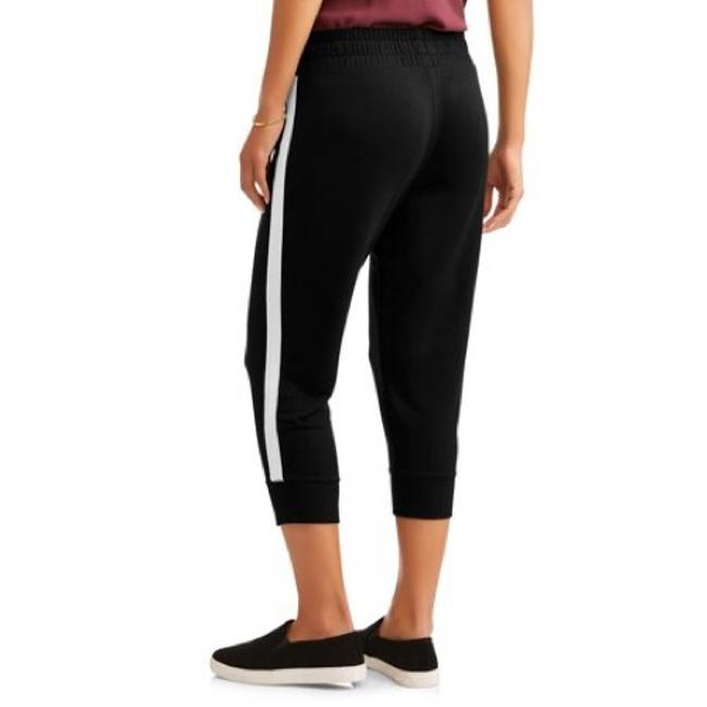 Athletic Capri/Cropped Pants black and white Image 1