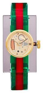 Gucci GUCCI YA143501 Plexiglas bangle watch