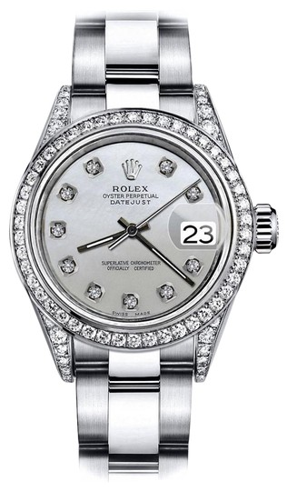 Preload https://img-static.tradesy.com/item/24146443/rolex-stainless-steel-white-pearl-26mm-datejust-natural-diamonds-bezel-and-lugs-watch-0-1-540-540.jpg