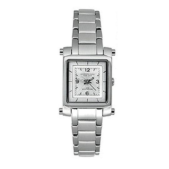 Kenneth Cole KC6033 Women's Silver Steel Bracelet With Silver Analog Dial Watch Image 1