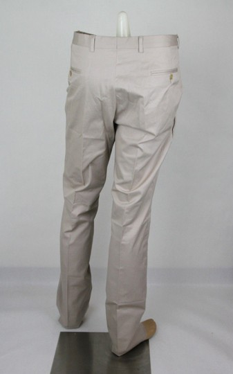 Gucci Oatmeal Larusmiani Art Bonet Formal Pant It 56r / Us 40 344792 9772 Groomsman Gift Image 3
