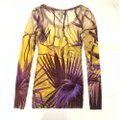 Jean-Paul Gaultier Top Yellow/Purple Image 3