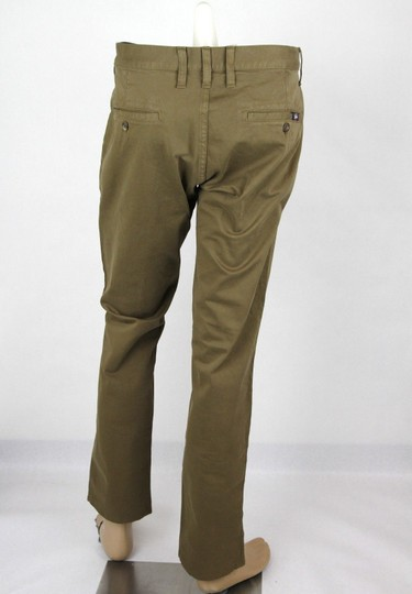 Gucci Barley Brown W Dyed Stretch Cotton Pant W/Logo 52r / Us 36 388946 2373 Groomsman Gift Image 3