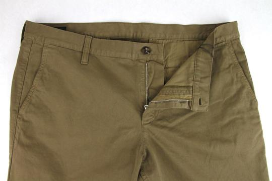 Gucci Barley Brown W Dyed Stretch Cotton Pant W/Logo 52r / Us 36 388946 2373 Groomsman Gift Image 4