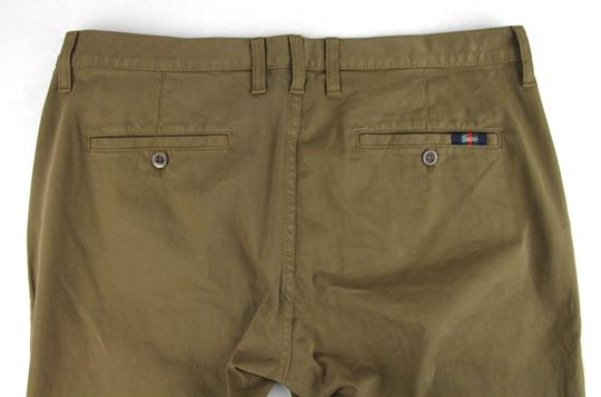 Gucci Barley Brown W Dyed Stretch Cotton Pant W/Logo 52r / Us 36 388946 2373 Groomsman Gift Image 9
