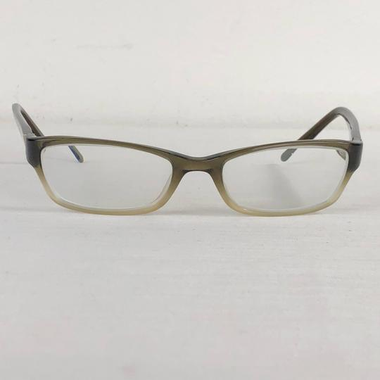 Tory Burch TORY BURCH Brown Green Small Eyeglasses Gold Medallion TY2003 Image 2