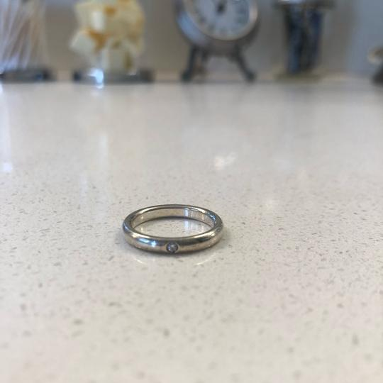 Tiffany & Co. Tiffany & Co. Elsa Peretti sterling silver stacking ring with diamond Image 3