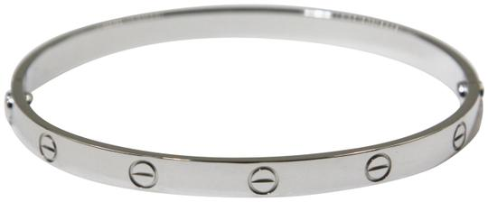 Preload https://img-static.tradesy.com/item/24146833/cartier-18k-white-gold-love-bracelet-0-1-540-540.jpg