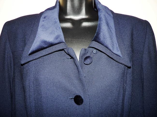 Kasper A.S.L Dress Lined Dryclean Only Buttoned Trench Coat Image 1