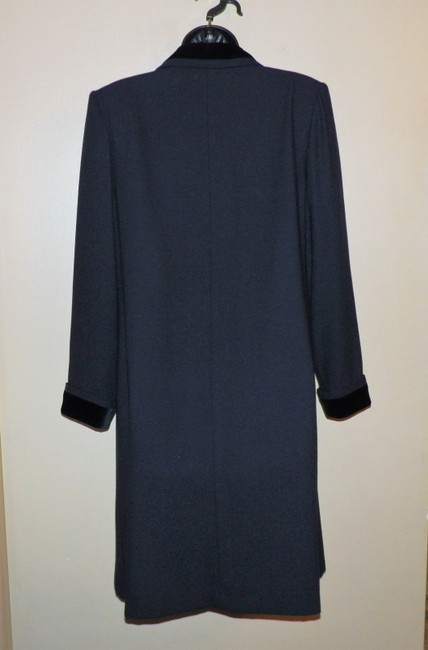 Kasper A.S.L Dress Lined Dryclean Only Buttoned Trench Coat Image 3