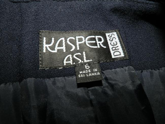 Kasper A.S.L Dress Lined Dryclean Only Buttoned Trench Coat Image 6