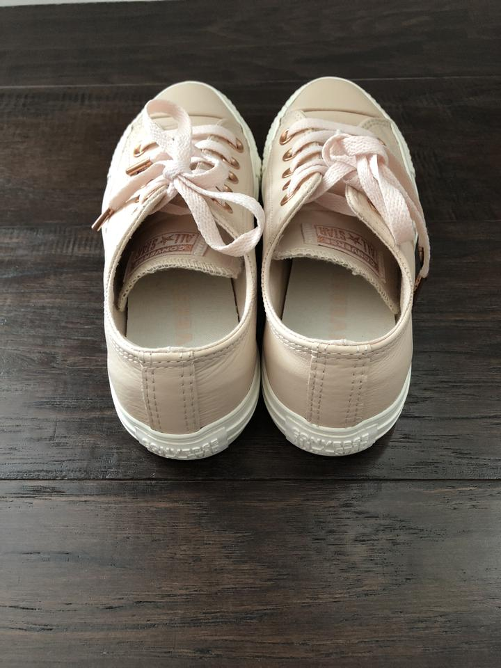 539b493e633f Converse Pastel Rose Leather Seasonal Ox Low Top Sneaker Sneakers ...