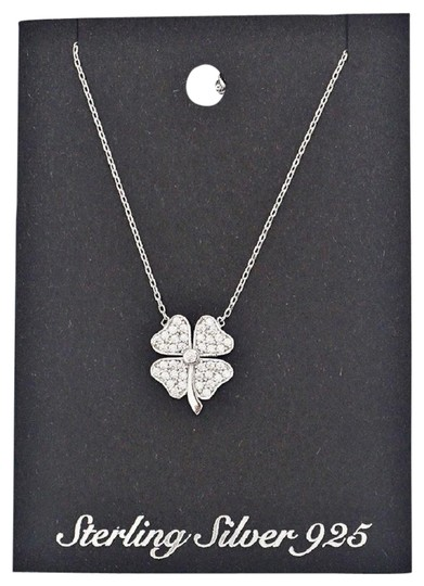 Other Sterling Silver 925 iRISH Clover Necklace Image 0