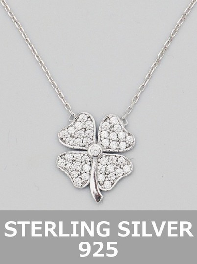 Other Sterling Silver 925 iRISH Clover Necklace Image 1