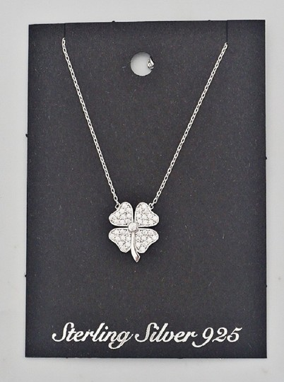 Other Sterling Silver 925 iRISH Clover Necklace Image 2