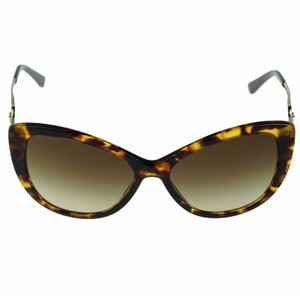Versace Women Cat Eye Sunglasses Plastic Frame with Brown Lens
