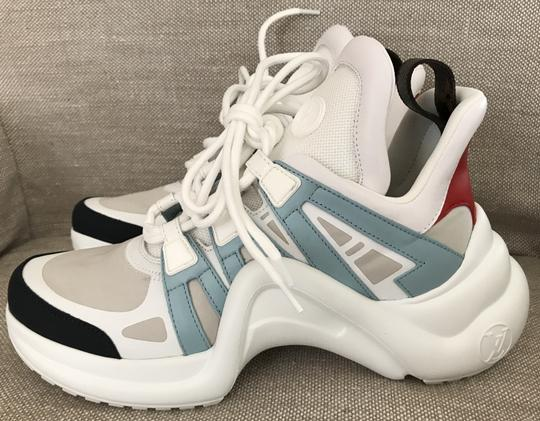 Louis Vuitton Blue/Red Athletic Image 1
