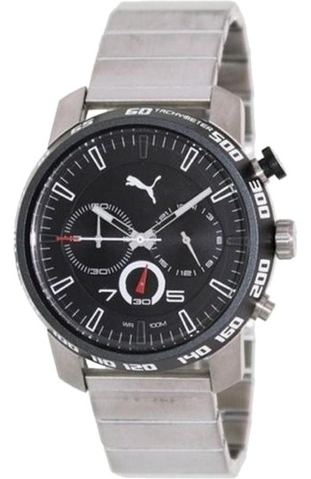 Preload https://img-static.tradesy.com/item/24146951/puma-silver-pu103231002-men-stainless-steel-bracelet-with-analog-dial-watch-0-1-540-540.jpg