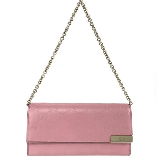 Gucci Bags Wallets Pink Clutch Image 1