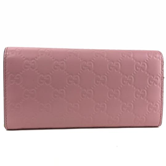 Gucci Bags Wallets Pink Clutch Image 2