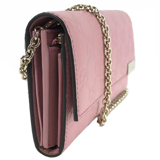 Gucci Bags Wallets Pink Clutch Image 4