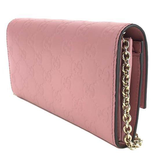 Gucci Bags Wallets Pink Clutch Image 5