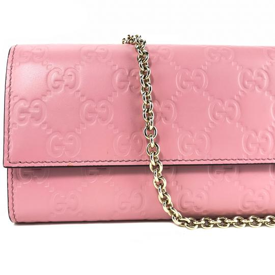Gucci Bags Wallets Pink Clutch Image 6