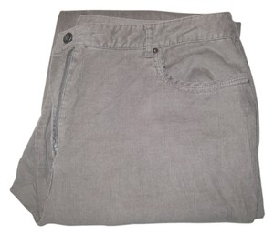 Talbots Corduroy Boot Cut Pants Gray