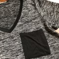Charlotte Russe T Shirt black and gray Image 1